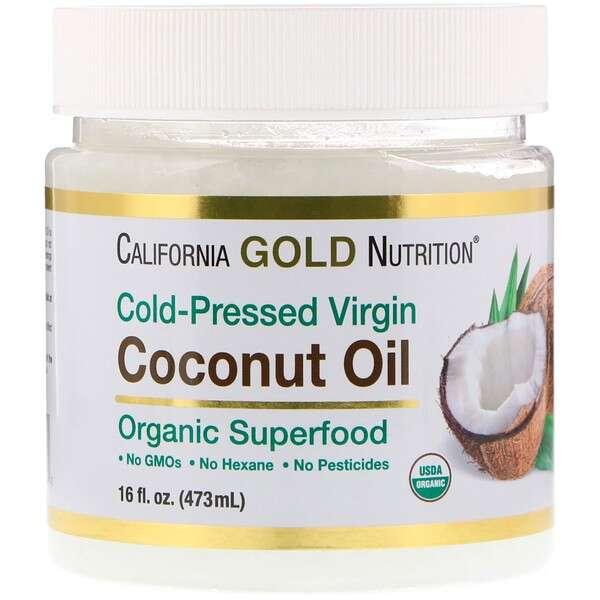 有机初榨椰子油 冷压
