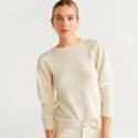 Mango Ribbed knit sweater 纯色针织衫