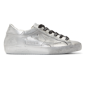 Golden Goose silver shoes