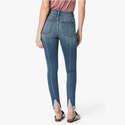 JOE'S Jeans 后开叉显腿长中高腰弹力修身牛仔裤