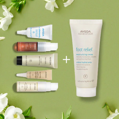 Aveda:Free 5 Samples With $30