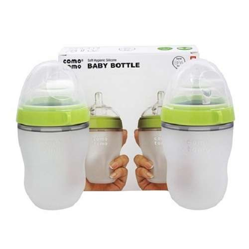 Comotomo 婴儿奶瓶双组装