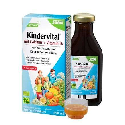 Salus 钙+维生素D3 儿童营养液