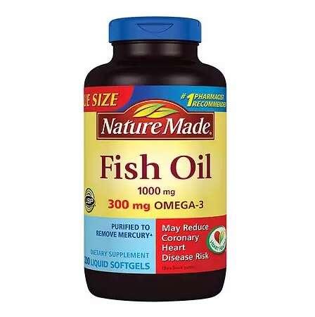 鱼油1000mg 200粒