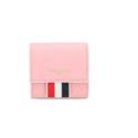 THOM BROWNE 粉色零钱包