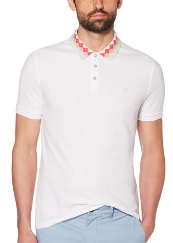 ARGYLE RIB POLO衫