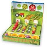 Learning Resources 蔬菜农场分类套装 儿童分类数学启蒙早教玩具