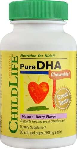 Childlife  DHA咀嚼片