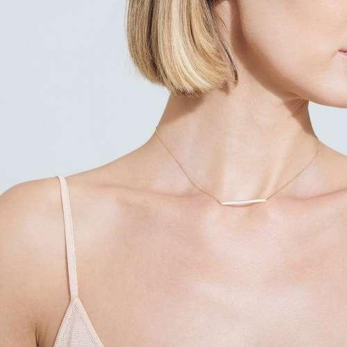 条形锁骨链