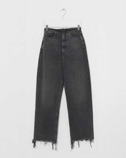 grey aged 牛仔裤