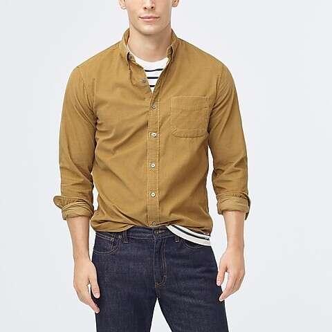 男士灯芯绒衬衫