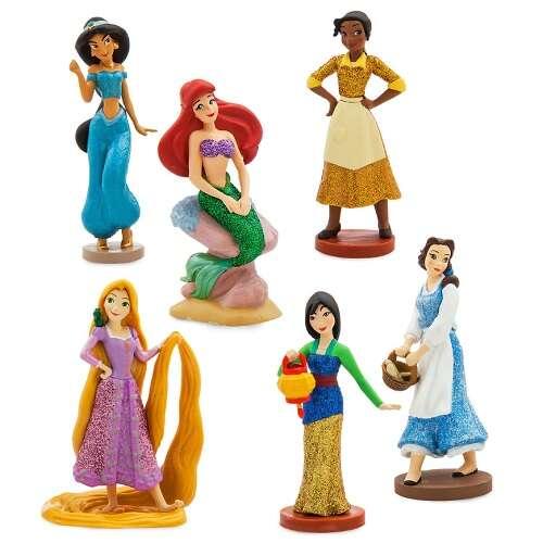 迪士尼公主人物套装