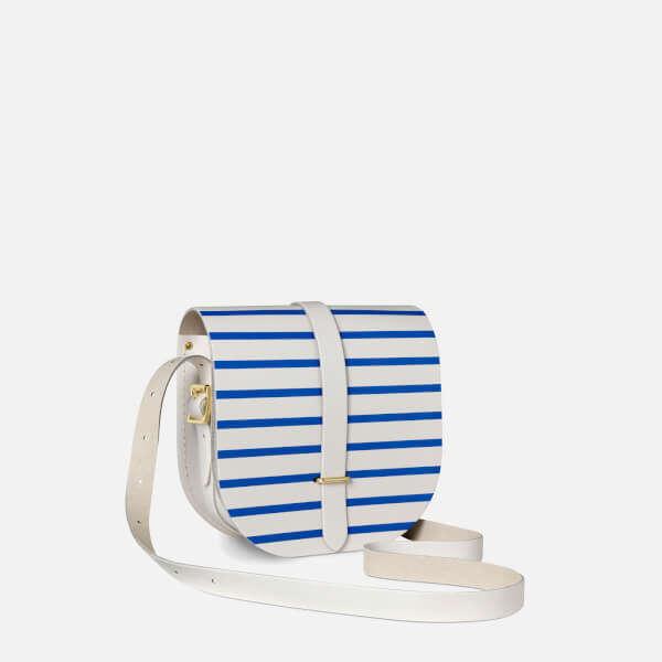 Saddle Bag - Blue Stripe
