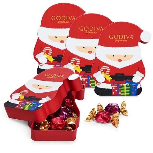 巧克力松露圣诞老人盒