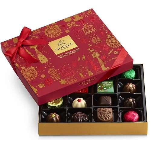 什锦巧克力节日礼物盒