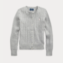 Ralph Lauren 拉夫劳伦 Cable-Knit Cotton Cardigan 7-16岁开衫