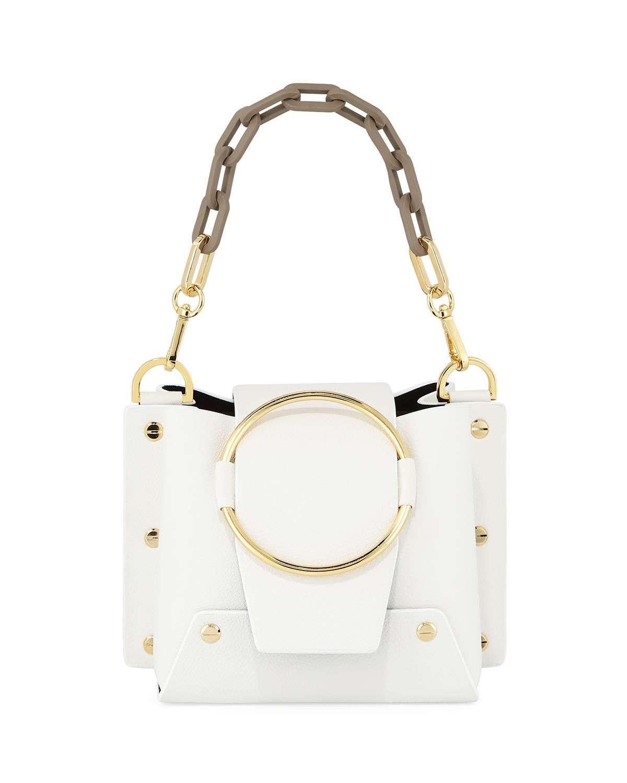 Yuzefi Delila Mini Colorblock Bucket Bag