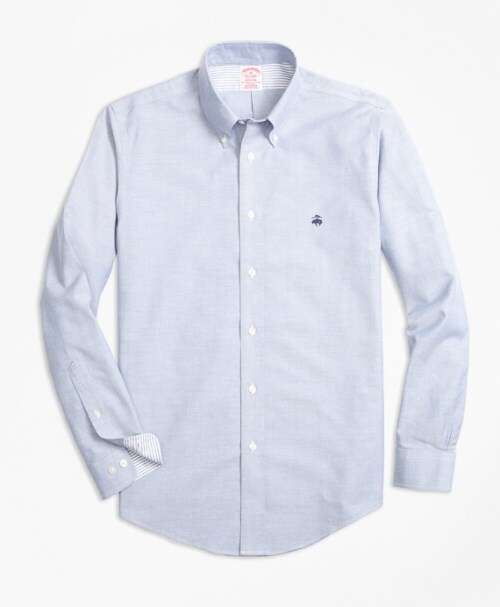 Brooks Brothers纯色衬衫