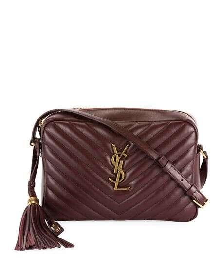 Saint Laurent Lou Medium Calf Crossbody Bag