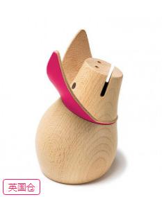 粉红女士小猪储钱罐
