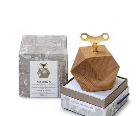 德国橡木音乐盒钻石形