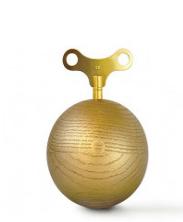 金橡木音乐盒圆形