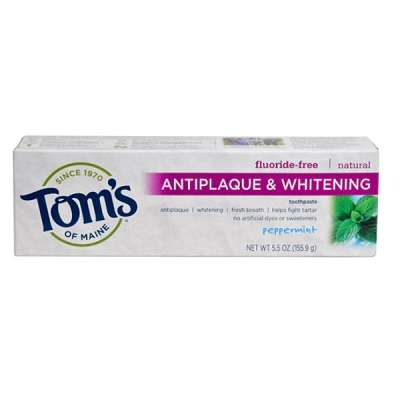薄荷味抗菌美白牙膏 155.9g