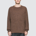 LEMAIRE 男士棕色毛衣