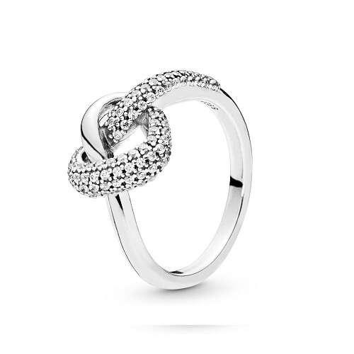 交叉心形戒指