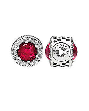 Silver CZ & Ruby Passion