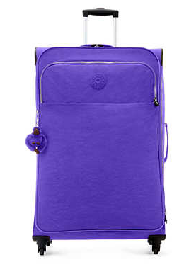 大号紫色拉杆箱