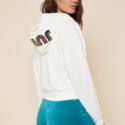 Juicy Couture 连帽短款拉链卫衣外套