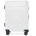 Off-White 白色尖头登机箱