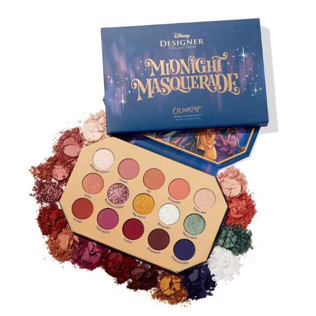 ColourPop  midnight masquerade shadow palette