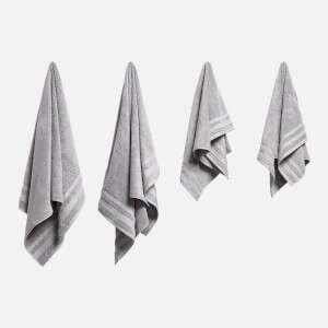 毛巾浴巾四件套