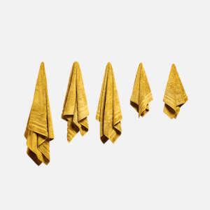 毛巾浴巾五件装