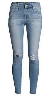 AG Jeans 破洞裤
