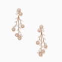 Kate Spade That Special Sparkle Statement 花花垂坠耳环
