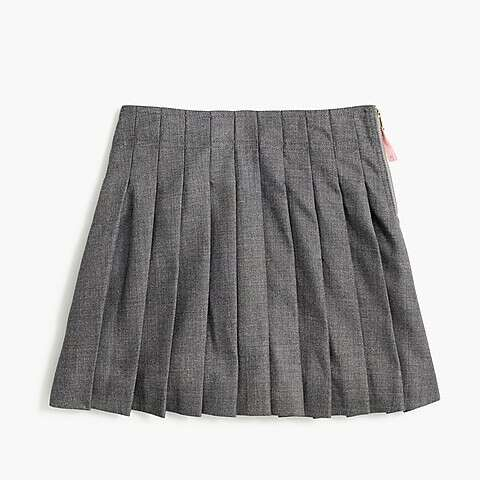 女童百褶短裙