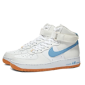 Nike Air Force 1 空军1号蓝色 swoosh 高帮运动鞋