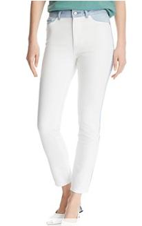 DL1961 拼色牛仔裤