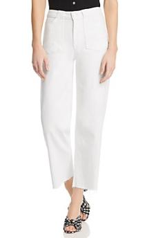 PAIGE 白色牛仔裤