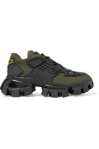 PRADA Thunder 网眼橡胶运动鞋
