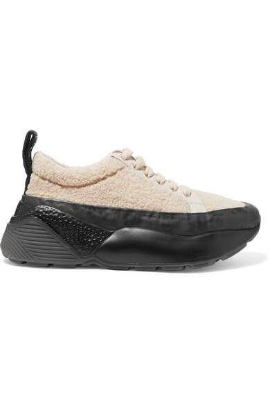 STELLA MCCARTNEY Eclypse 科技羊毛皮运动鞋