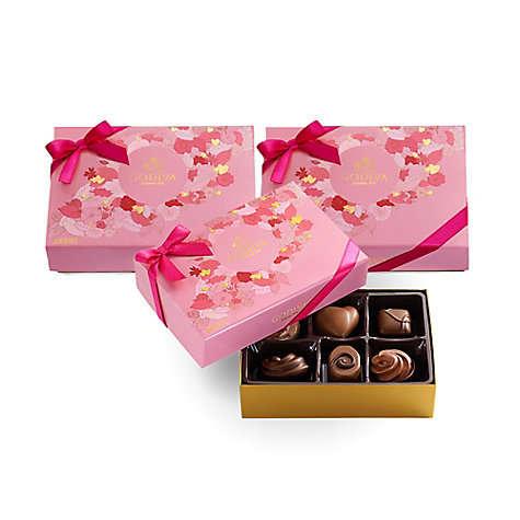 什锦巧克力礼盒 6颗*3