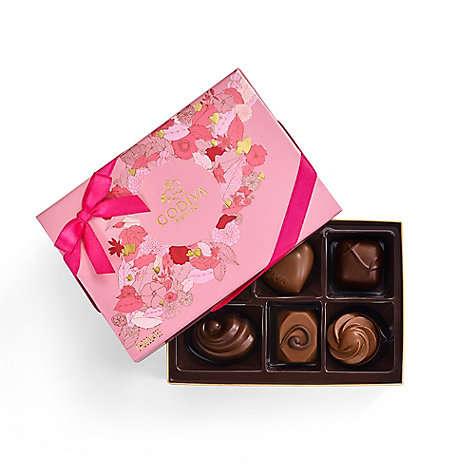 什锦巧克力礼盒 6颗