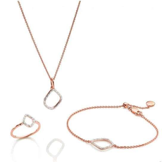 Riva戒指手链项链套装