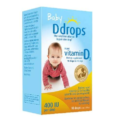 Ddrops 婴儿维生素D3滴剂