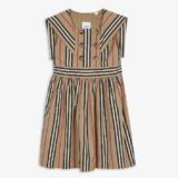 Burberry 博柏利 Orlie 3-14 岁条纹棉质连衣裙
