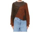 ISABEL MARANT ÉTOILE 拼贴羊毛针织衫